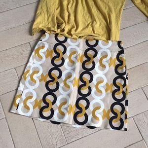 J.crew Linen mini skirt ❤️🎁🌺💕35